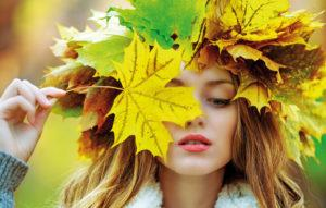 Осень-девушка